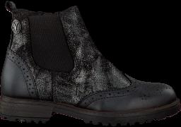 Schwarze Vingino Ankle Boots Letizia