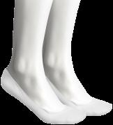 Weiße Tommy Hilfiger Socken Women Regular Step